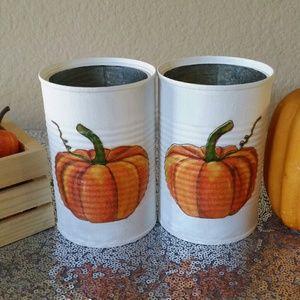 Fall Harvest Decor (2 pc)
